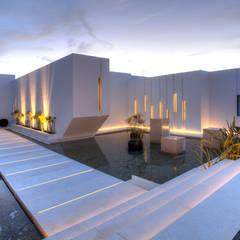 Casa Oasis: Casas de estilo  de MG&AG.ARQUITECTOS