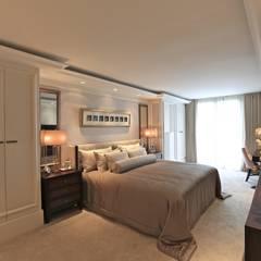Kerim Çarmıklı İç Mimarlık – K.T.K Evi İstinye:  tarz Yatak Odası