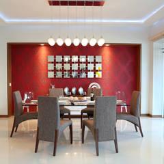 comedor: Comedores de estilo  por arketipo-taller de arquitectura