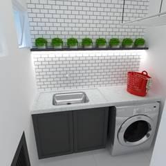 Apartamento - AOS 06 - Octogonal - Brasília/DF: Cozinhas modernas por Arquitetura do Brasil