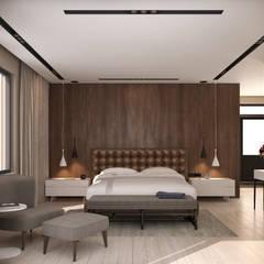 fatih beserek – İç mekan tasarım ve Görselleştirme:  tarz Yatak Odası,