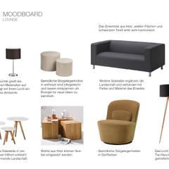 Möbel für die Lounge:  Bürogebäude von furnitects GmbH