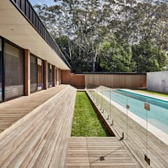 Modular Home in Berry, NSW:  Pool by Modscape Holdings Pty Ltd