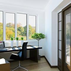 Estudios y oficinas de estilo  por homify, Moderno