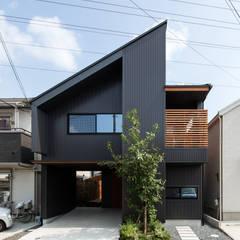 Moderne Häuser von 藤森大作建築設計事務所 Modern