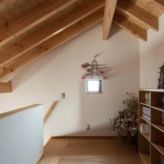 Modern style media rooms by 藤森大作建築設計事務所 Modern
