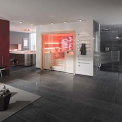 helo Saunakabinen: modernes Spa von helo GmbH