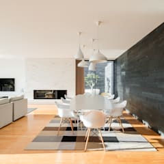 Dining room by Raulino Silva Arquitecto Unip. Lda