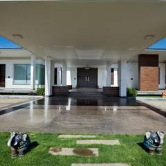 Modern balcony, veranda & terrace by Cubism Modern