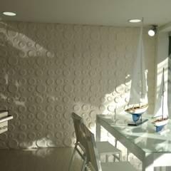 Panel 3d Wallart ref. Craters Proyectos e Innovacion, Pei-sas: Oficinas y Tiendas de estilo  por comercial79