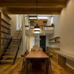 北方の家: 浦瀬建築設計事務所が手掛けたキッチンです。,