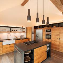 Down Barton, Devon:  Kitchen by Trewin Design Architects
