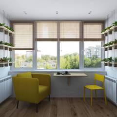 IKEA рулит! Бюджетная квартира: Tерраса в . Автор – 3D GROUP
