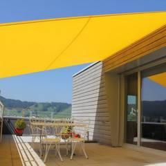 Sonnenschutz mal anders:  Schulen von Textile Sonnenschutz- Technik ,Modern