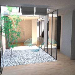بيت زجاجي تنفيذ BONBA studio