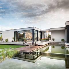 """""""Inseltraum"""" - Einfamilienhaus in Brandenburg an der Havel:  Häuser von SEHW Architektur GmbH"""
