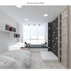 Nursery/kid's room by Circus28_interior, Minimalist