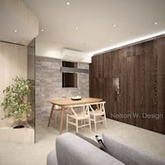 Illumination Terrace 光明臺 | Tai Hang Road 大坑道: modern Dining room by Nelson W Design