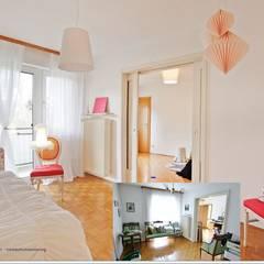 Cuartos infantiles de estilo  por Münchner home staging Agentur GESCHKA