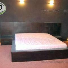 Дизайн спальни / кровать и прикроватные тумбочки на заказ:  Спальня by Ника-Фаворит