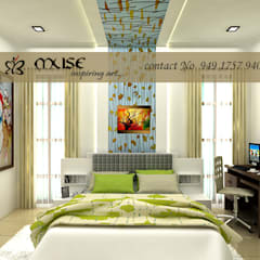 Residential pProjects:  Bedroom by Muse Interiors,