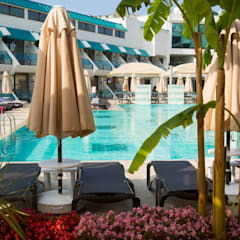 Nota Tasarım Peyzaj Mimarlığı Ofisi – Side Star Elegance Hotel:  tarz Havuz