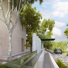 IMI CC: Terrazas de estilo  por Esquiliano Arqs