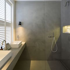 BIDDULPH MANSIONS, MAIDA VALE:  Bathroom by Ardesia Design