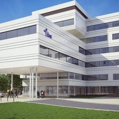 Clinique du MontLégia: Cliniques de style  par artau architectures