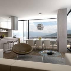Energy Living: Espacios comerciales de estilo  por M Group Arquitectura