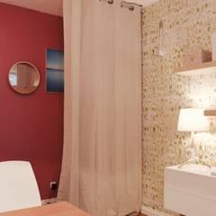 cabinet diététique sur lyon: Bureaux de style  par COLOMBE MARCIANO