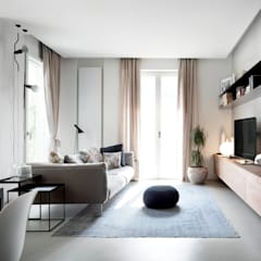 ห้องนั่งเล่น by StudioCR34
