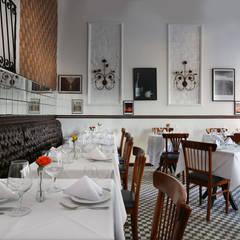Restaurante Allez, Allez! Vila Madalena - SP: Paredes  por Antonio Armando Arquitetura & Design