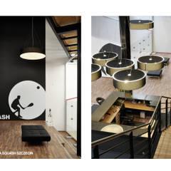 WNĘTRZE SQUASH: styl , w kategorii Miejsca na imprezy zaprojektowany przez GÓRSKI CHMIELEWSKA ARCHITEKCI