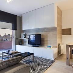 Hogar familiar en Badalona: Salones de estilo  de Dröm Living