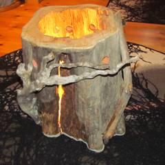 Baumstammlampe aus Lappland - Keloholz:  Gastronomie von homify