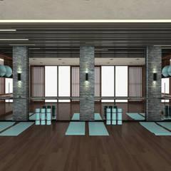 asian Gym by Kerim Çarmıklı İç Mimarlık