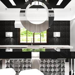 THE SECRETS OF PRESTIGE | II | Wnętrze rezydencji Eklektyczna kuchnia od ARTDESIGN architektura wnętrz Eklektyczny