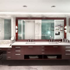 Bathroom by KorteSa arquitectura,