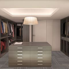 Dressing room by KorteSa arquitectura, Eclectic