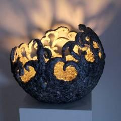 Volna Lichtschale:  Messe Design von Oksana Bergen