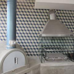 Projeto Residencial Contemporâneo: Terraços  por Gloria Cabo Arquitetura