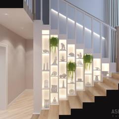 Дом за городом: Коридор и прихожая в . Автор – Студия авторского дизайна ASHE Home