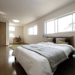 Bedroom by  Live Sumai - アズ・コンストラクション -