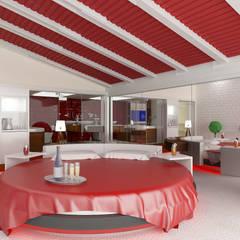 VRLWORKS – otel odası projesi..:  tarz Oteller