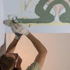 Wandschablone Jugendstil:  Wände von ab-design GmbH