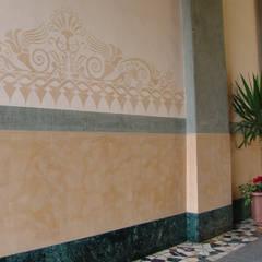Wandschablone Mediterran:  Wände von ab-design GmbH