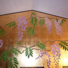 Wandschablone Glyziene:  Wände von ab-design GmbH