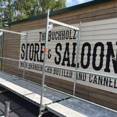 Wandschablone Saloon:  Wände von ab-design GmbH