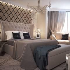 Квартира Art Deco: Спальни в . Автор – GM-interior